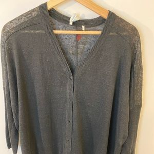 Sundance Lightweight Knit Black Cardigan